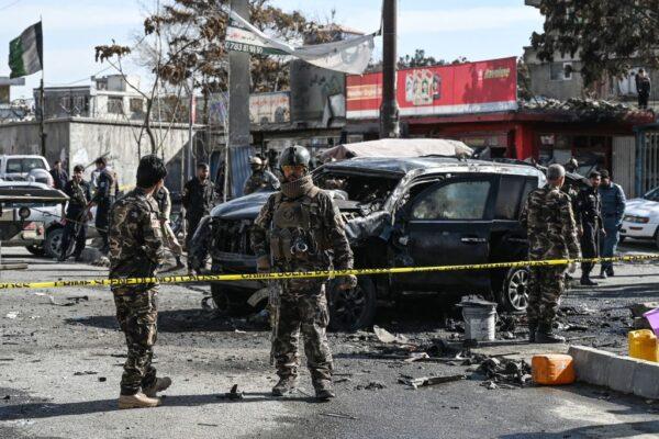 汽車炸彈攻擊 阿富汗賓館倒塌醫院損毀至少30死