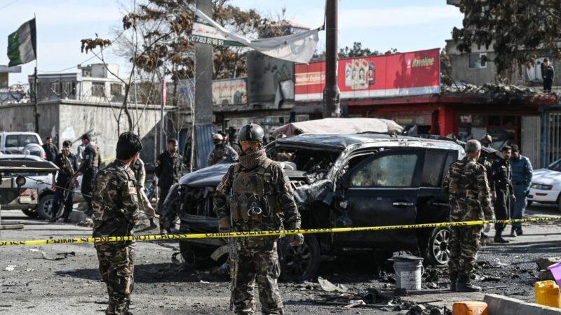 汽车炸弹攻击 阿富汗宾馆倒塌医院损毁至少30死