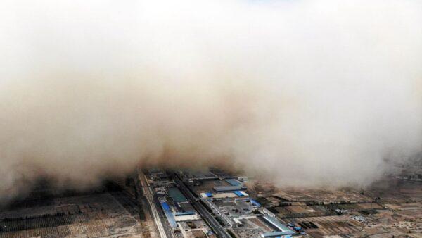 沙塵暴再襲中國 北京黃濛濛 13省市急發警報