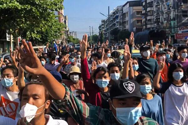 缅甸政变危机难化解 2日军方开枪至少8死