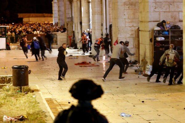 以巴警民耶路撒冷爆衝突 至少184人傷