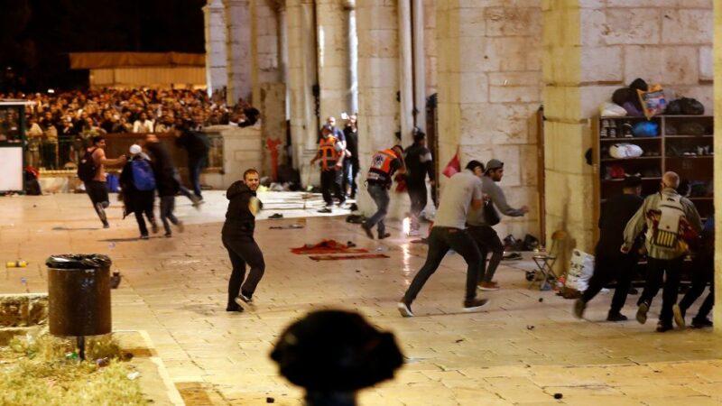以巴警民耶路撒冷爆冲突 至少184人伤