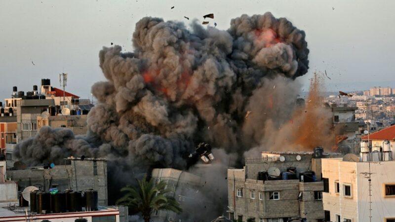 衝突進入第七天 以軍轟炸哈馬斯頭目住所
