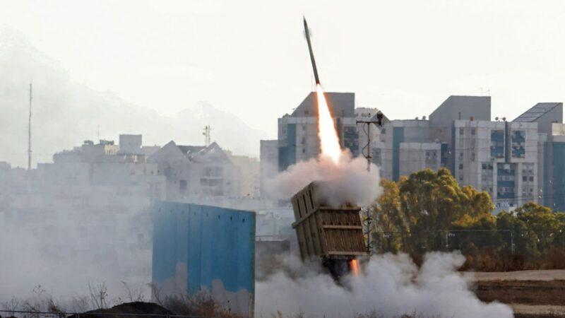"""以色列""""铁穹""""威力曝光 辨识敌方飞弹威胁再拦截"""
