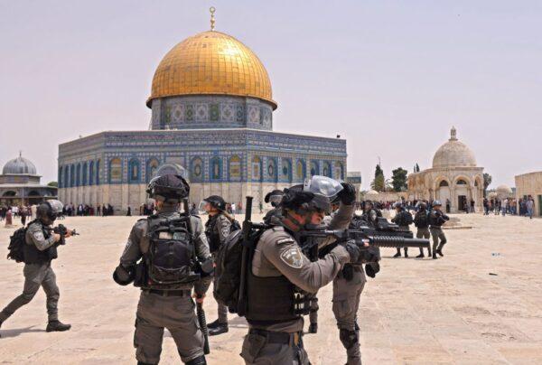 以巴停火根源未解 耶路撒冷清真寺再爆警民冲突