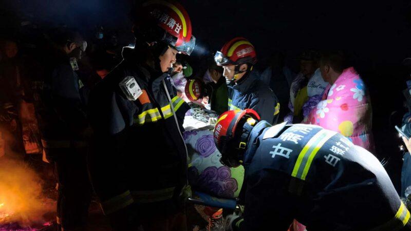 """越野赛21死:电视台重播开幕式 一片""""祥和喜庆"""""""