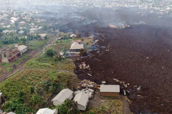 剛果火山噴發至少15死 超過170名孩童失蹤(組圖)