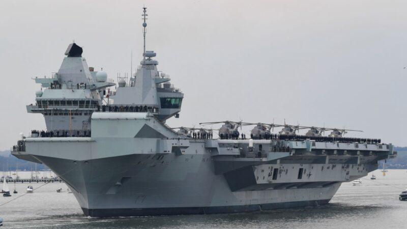 英航母首進亞洲作戰部署 英相直接點名中共