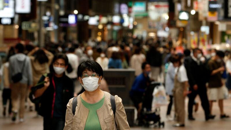 日本昨增6422例 近半地区感染扩大