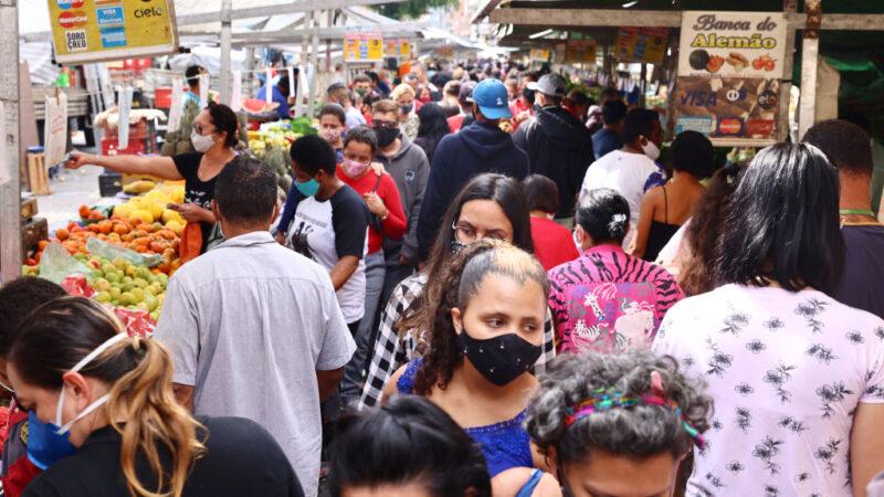 巴西新增6万7009人染疫 累计确诊逾1558万例