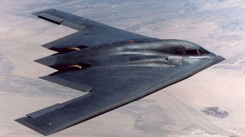"""中共""""轰-20""""设计图罕见曝光 酷似美B2隐形轰炸机"""