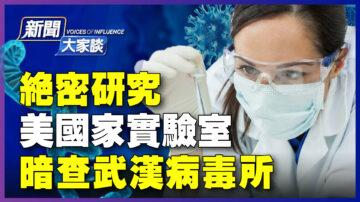 【新聞大家談】絕密研究 美實驗室暗查武漢病毒所