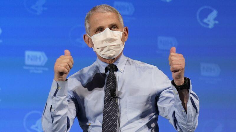 拜登首席医疗顾问:大概该放松室内带口罩规定了