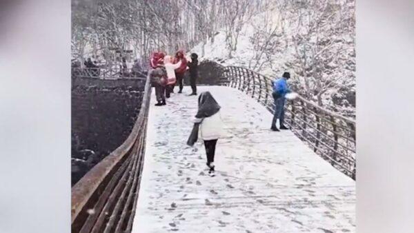 已近六月 吉林多地降雪上微博热搜榜