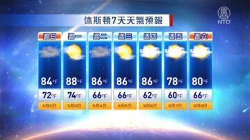 休斯頓一週天氣預報