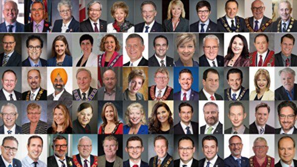 加拿大逾120政要祝贺法轮大法洪传29周年