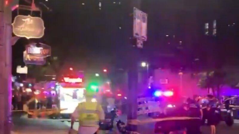 德州奥斯汀爆枪击案 至少12人中弹(视频)
