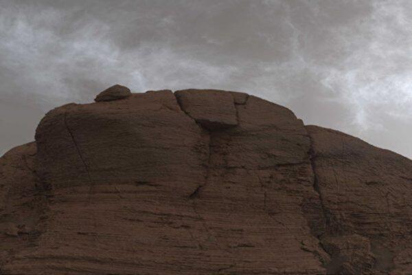 在火星上拍到閃光雲 雲裡有冰晶