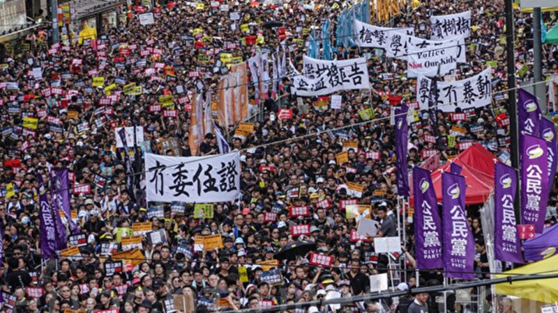 香港民間團體申請七一大遊行:抵抗政治打壓
