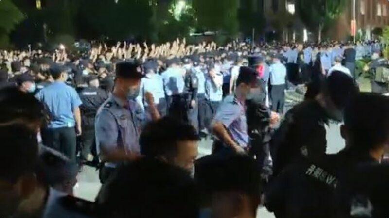 六四敏感時刻 中國多地鬧學潮 當局被迫讓步