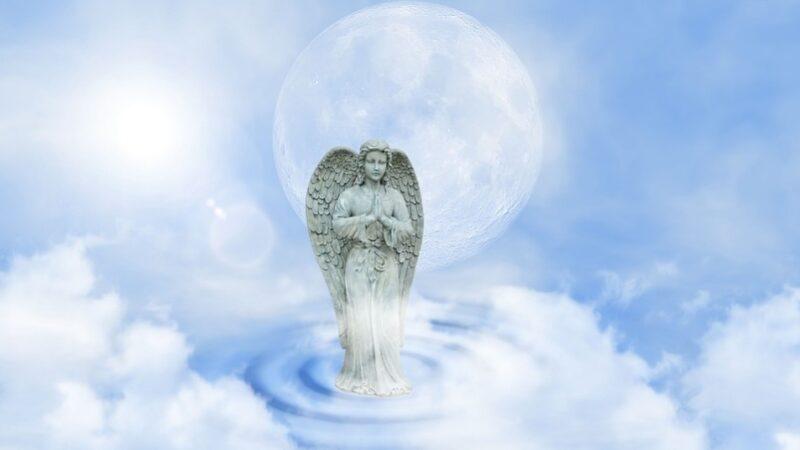 天堂的奇遇:见到耶稣和巨大天使