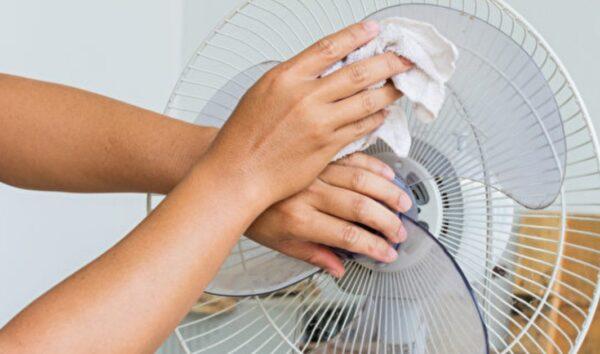 去除电风扇、纱窗灰尘很简单 清洁妙招学起来