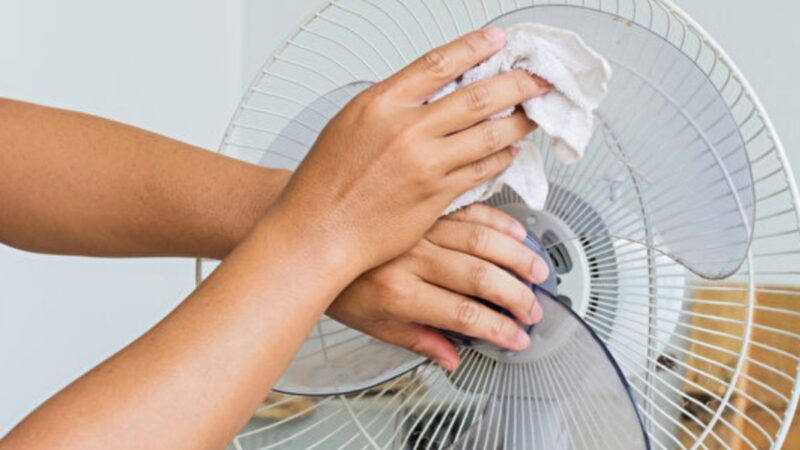 去除電風扇、紗窗灰塵很簡單 清潔妙招學起來