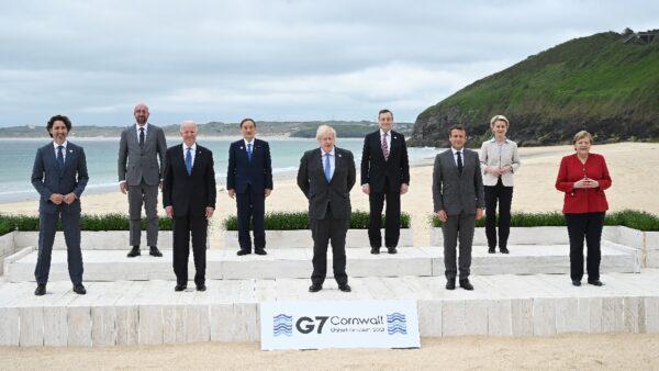 G7峰會協議:提供疫苗 挑戰中共 徵稅最低稅率