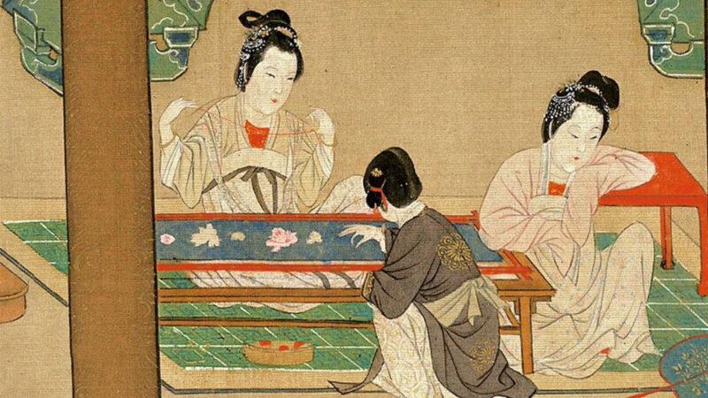 【馨香雅句】中国华服里的艺术 刺绣女红