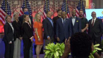 休斯頓市慶祝國慶活動連續第二年遠程舉行