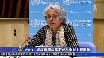 【疫情動態】WHO:印度變種病毒將成全球主要毒株