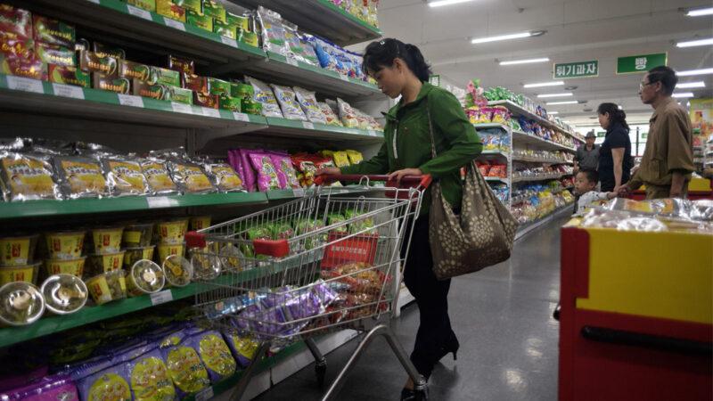 一包咖啡逾百美元 朝鮮食品危機進入白熱化
