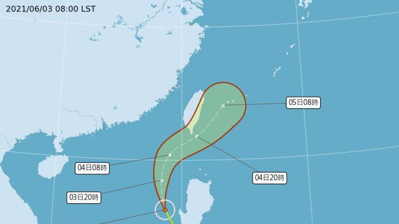 預測:9月前約20個熱帶氣旋形成 5個登陸台灣與中國