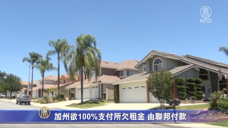 加州欲100%支付所欠租金 由联邦付款