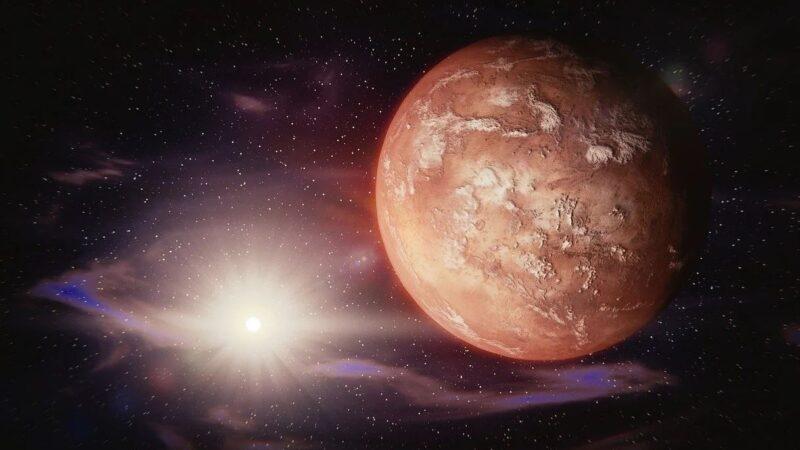 火星上可能存在生命 有证据了?
