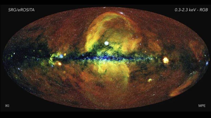人类第一张太空地图 百万量级的黑洞囊括其中
