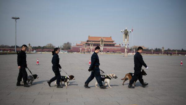 中共建党百年防民变 北京9区封闭 鸽子也禁飞