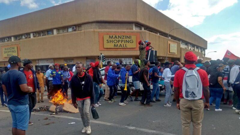 要求民主 史瓦帝尼爆示威引發警民衝突