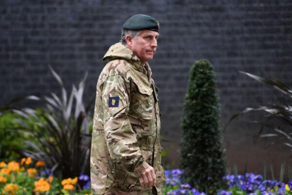 英國防參謀長確診 國防部長等官員自主隔離