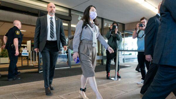 孟晚舟要求不公開匯豐銀行證據 遭加國法院駁回