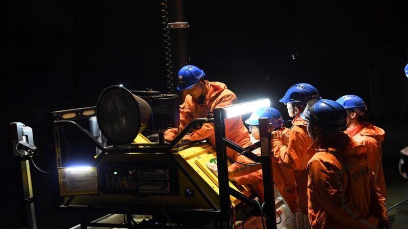 山西鐵礦透水 13工人被困生死不明
