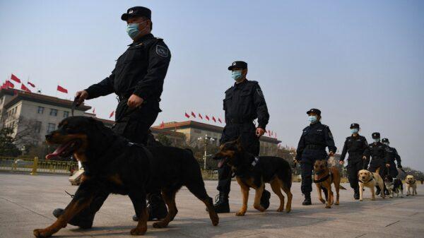 中共「百年」臨近 北京風聲鶴唳 傳百餘警犬上街