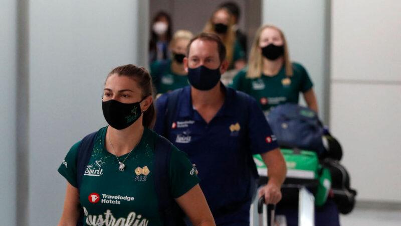 疫情疑虑下 澳洲女垒成东奥首批海外抵日选手