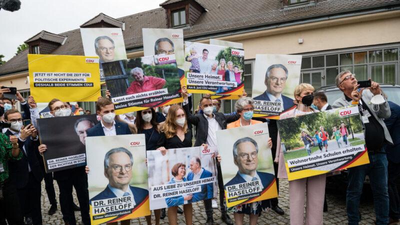 出乎意料 德国地方选举基民党大胜