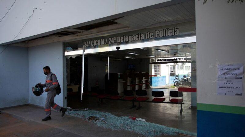 巴西瑪瑙斯遭黑幫攻擊 開槍縱火31嫌被捕