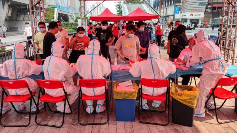 深圳下十圍村突然封鎖 村民叫苦:快吃不上飯了!