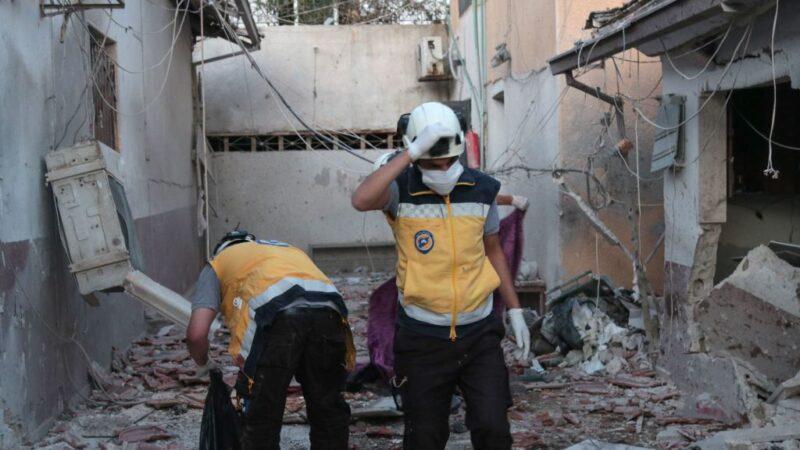 叙北阿夫林遭炮击 医院被击中至少18死23伤