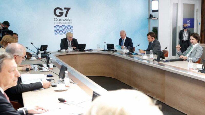 G7公報猛踩中共紅線 再提台海安全及病毒溯源