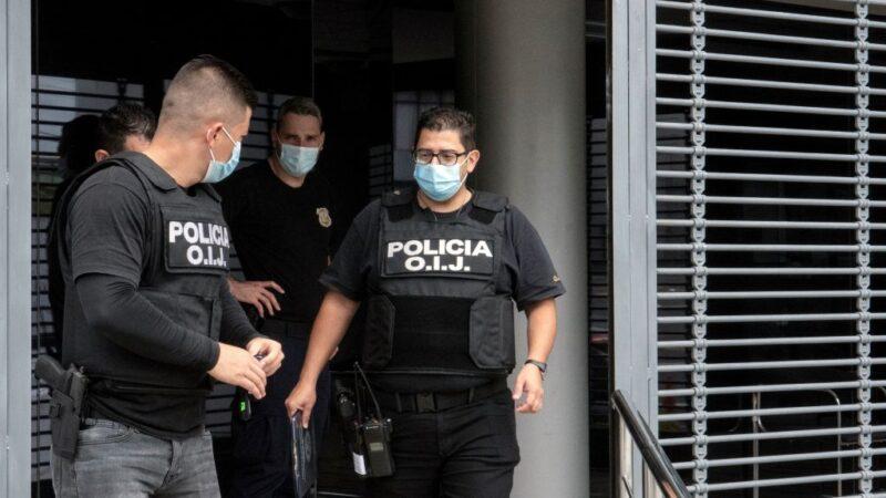 哥斯大黎加突襲查賄拘禁28人 總統府也被搜