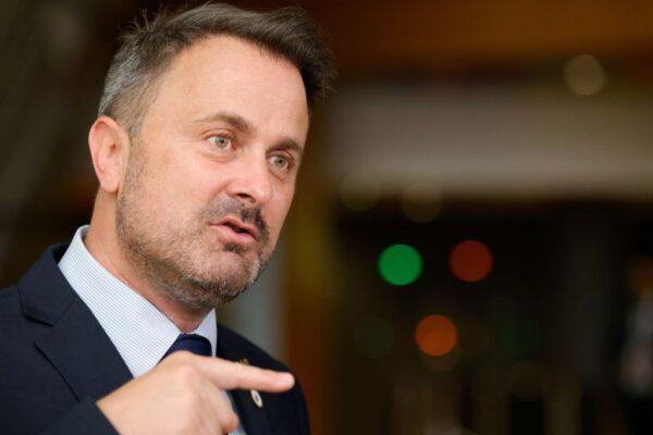盧森堡總理自主隔離 傳呼吸急促住院